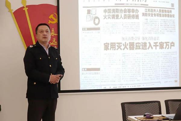 南昌首大医院消防培训